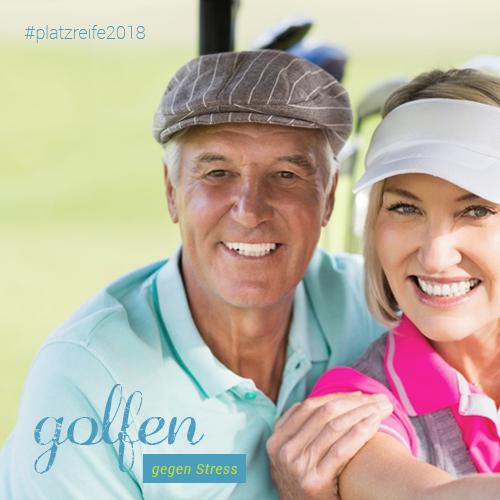 Golfen gegen Stress